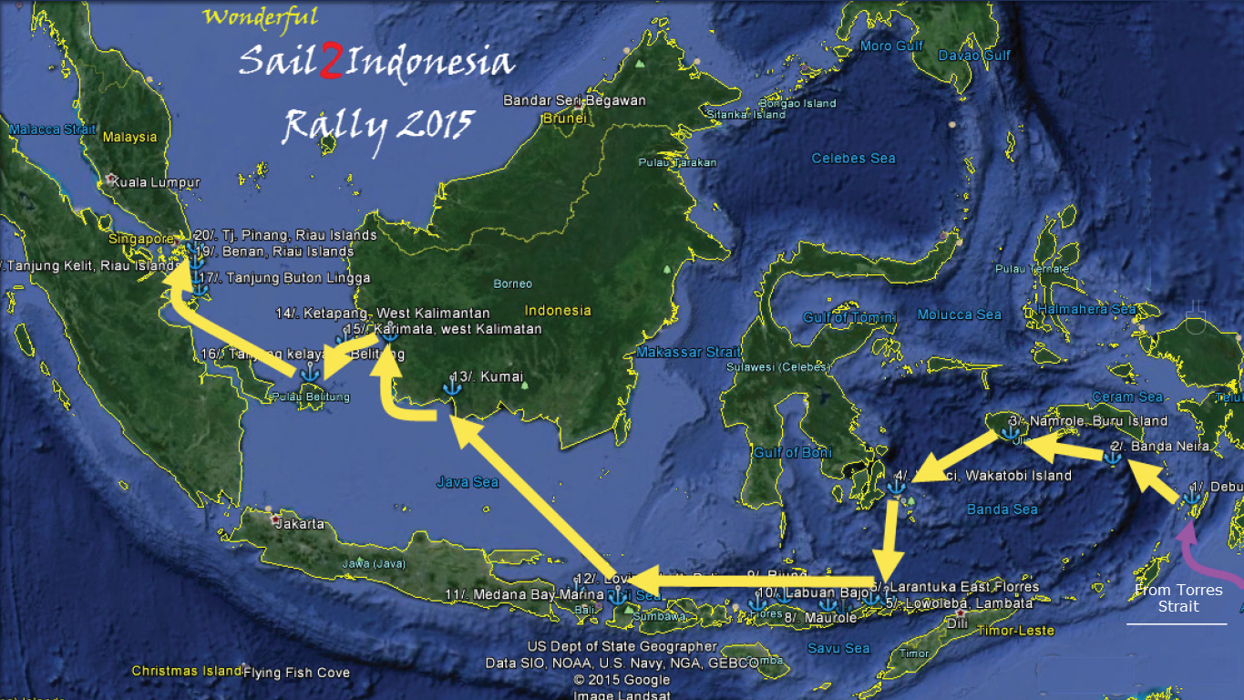 Sail 2 Indonesia Rally