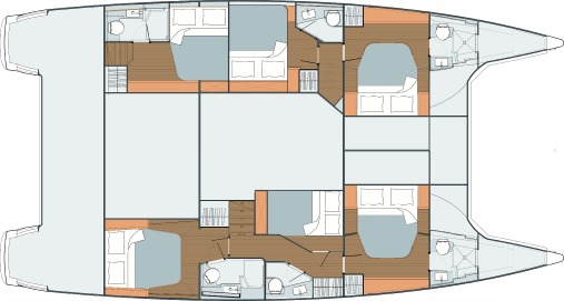 Standard version - 6 cabins