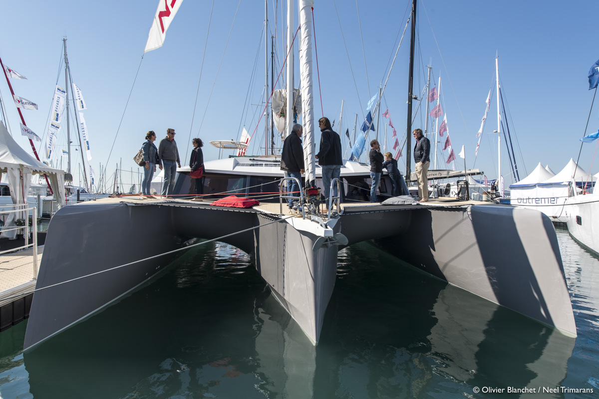 Neel 51 Trimaran By Kevin Green Multihull Solutions