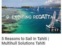 Reasons to Sail in Tahiti - Multihull Solutions