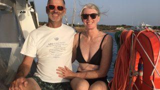 At anchor Formentera
