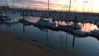 Les Minimes, La Rochelle. France's biggest marina. where they commissioned Tigger.
